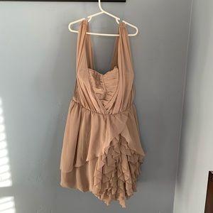 Ruffle front H&M dress
